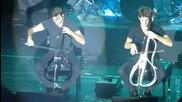 2 Cellos - концерт София 9.12.2014