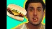 Бургер с развалено кюфте - Шега
