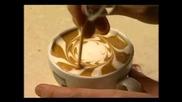 Изкуство с кафе