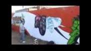 Violence Battle Graffiti Contest