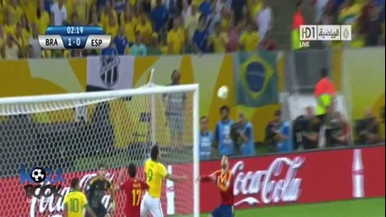 Brazil Vs Spain 3-0 All Goals and highlights (30/6/2013)