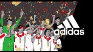 Усещането -- 2014 Fifa World Cup™--adidas Football