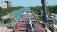 Бърз каданс - преминаване на кораб през панамския канал