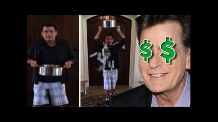 Charlie Sheen Raises the Stakes in Als Ice Bucket Challenge! tmz
