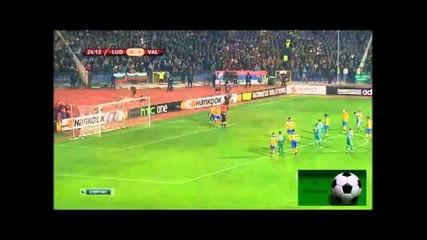 Лудогорец 0:3 Валенсия