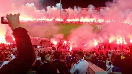 Празненства и Заря след Левски - Лацио Вековен Левски ! ( Levski - Lazio 3-2 ) 100 years Levski
