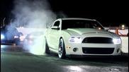 Shelby Gt500 2013 vs. Camaro 715hp