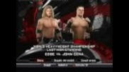 John Cena vs. Edge - Backlash 2009 - Svr2009 Highlight Reel