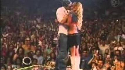 Besos en los conciertos de Chicago de Rbd