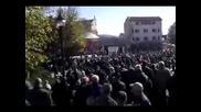 Протест в Карлово против Куршум джамия