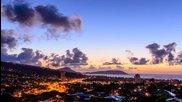 Time lapse на райско кътче (хавайските острови)