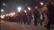 """Луковмарш 2015, факелно шествие """"всички комунисти..."""""""