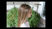 Same-side Lace Braid | Back to School Hairstyles