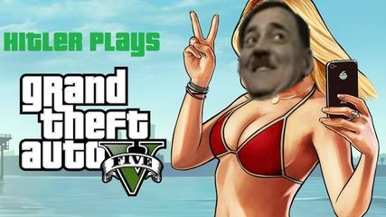 Hitler plays Grand Theft Auto V