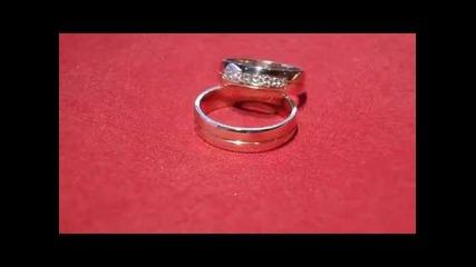 венчални халки с диаманти Kirkorian Diamonds