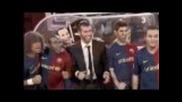 Crackovia - Barca 2-0 Manchester [english Subs]