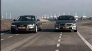 Mercedes Cls vs Audi A7 Sportback