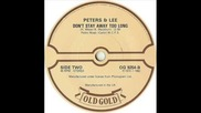 Peters & Lee-dont Stay Away Too Long