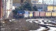 Бжк с локомотиви 40 0797,87 034 и 87 020