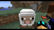 Minecraft оцеляване with Боби и Иво част 6 - къща №2 и ферма за овце