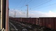 40 0367 с товарен влак на Вятово