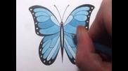 Как да нарисувате пеперуда