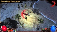 Path of Exile - Demon Hand Cleave Effect
