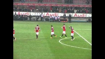 Милан 4:0 Киево - Втори гол на Ибрахимович