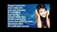Victoria Justice - A Thousand Miles (lyrics Video)