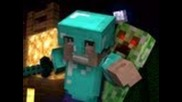A Minecraft Parody of Usher's Dj Got Us Fallin' in Love
