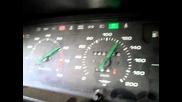 Ускорение от 0 до 160 на Москвич Свр 2.0 113 к.с.