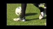Uefa Training Ground - The Vieira pirouette