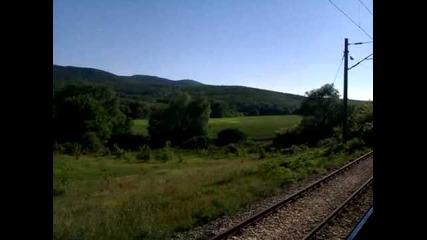 Пътуване с пътнически влак- Варна- Карнобат(3)