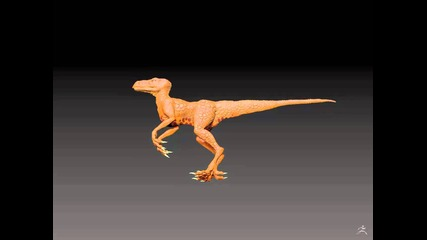 Zbrush Raptor