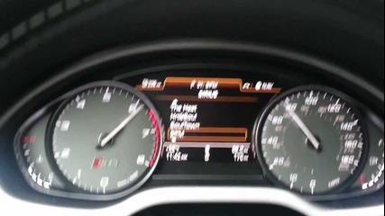 Audi S8 2013 Ускорение 0-100