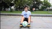 Урок за напреднали - Freestyle Football от Енис Тодоров (bulgarian)