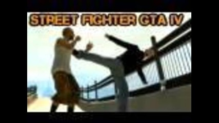 Gta 4 Pc Street Fighter (machinima)