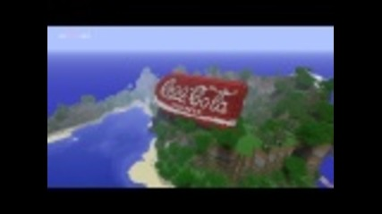 Epic Minecraft build - Coke Can [hd]
