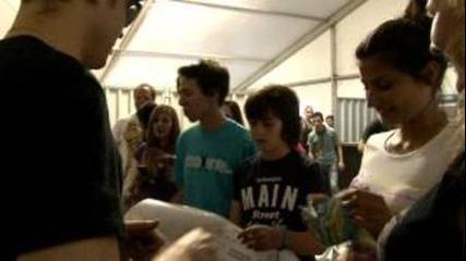 Lucky fans meeting Sum 41 at Spirit of Burgas 2012