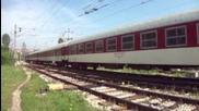 Бв 2655 с локомотив 44 174 и локомотив 55 049 с товарен влак