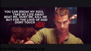Tobias Eaton | Four || you can break my soul...