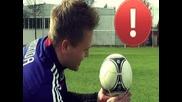 Cristiano Ronaldo Longshot Knuckleball Tutorial | How to shoot a Knuckle Ball | english/englisch