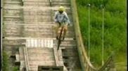 Igor Obu longest Bikejump from Skiramp 42,11 Meter