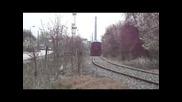 Товарен влак с локомотив 07 091