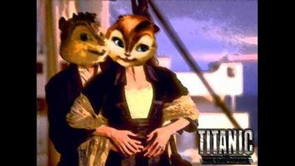 Alvin et les Chipmunks titanic