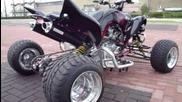 raptor 700 streetfighter monsterpipe duals