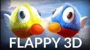 Flappy 3d - Sony Xperia Z2 Gameplay