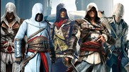 Assassin's Creed Unity Music Video - Master Assassins Assemble (altair, Ezio, Connor, Edward & Arno)