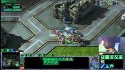 Starcraft2- Pvt Масирана атака с маринери задържане и контра аттака
