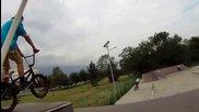 Etnies Bmx Park Session Ii 2014 Sofia, Bulgaria